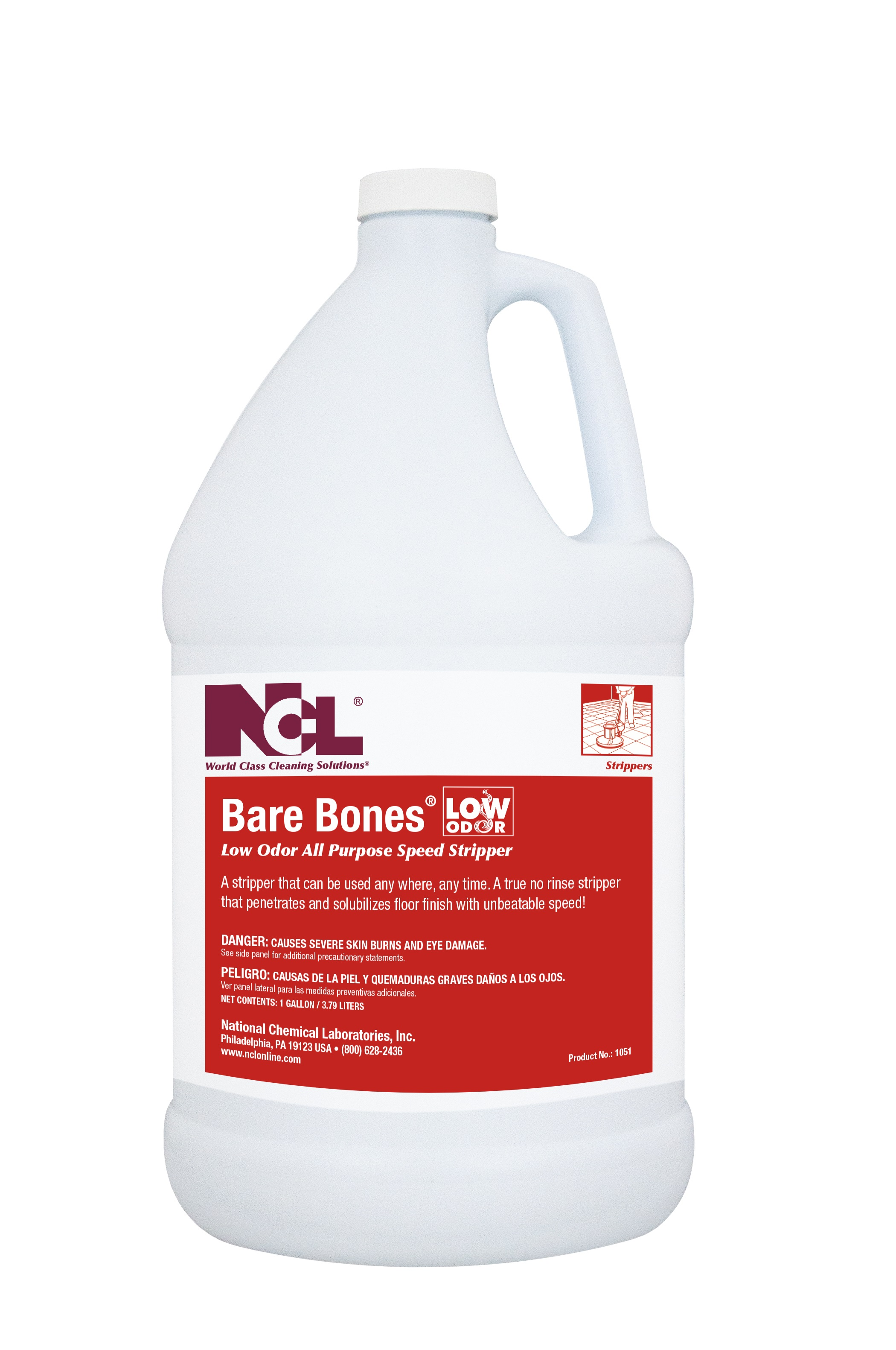Ncl Bare Bones No Rinse Low Odor All Purpose Speed