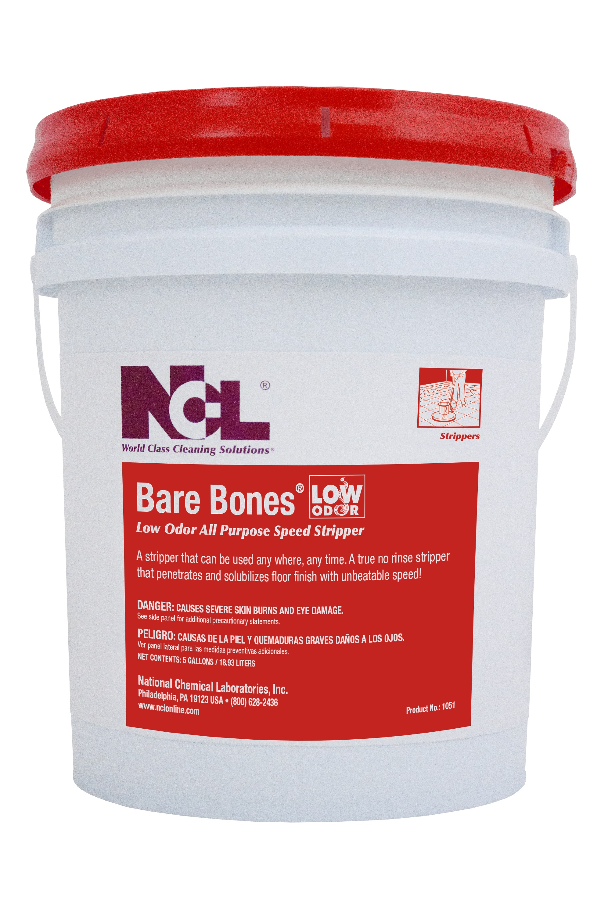 NCL Bare Bones No-Rinse Low Odor All Purpose Speed