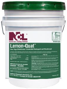 Ncl Lemon Quat Disinfectant Cleaner 5gal Four U