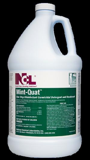 Ncl Mint Quat Neutral Disinfectant Cleaner 4gal Cs
