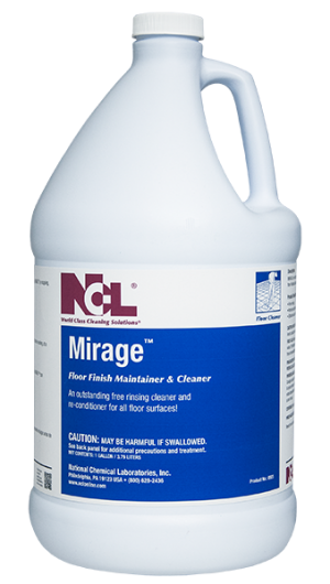 Ncl Mirage Neutral Floor Finish Maintainer Amp Concentrate